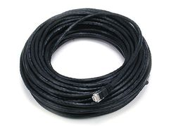 Cable - Cat5e 24AWG UTP Ethernet Network Patch Cable, 75ft Black