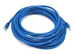 Cable - Cat5e 24AWG UTP Ethernet Network Patch Cable, 25ft Blue