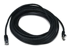 Cable - Cat5e 24AWG UTP Ethernet Network Patch Cable, 25ft Black
