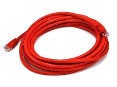 Cable - Cat5e 24AWG UTP Ethernet Network Patch Cable, 14ft Red