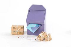 Purple Fairy Mailbox