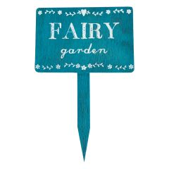 Wooden Fairy Garden Sign