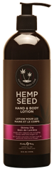 Skinny Dip Hemp Seed Hand and Body Lotion 16oz pump