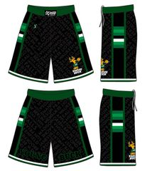 (BLACK) Young Buck Shorts