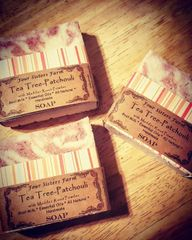 Tea Tree-Patchouli Soap
