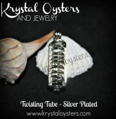 Twisting Tube - Silver Plated