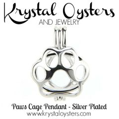 Paws Pendant - Silver Plated
