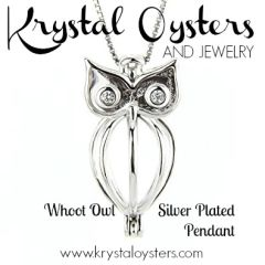 Whoot Owl Pendant - Silver Plated