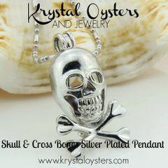 Skull & Bones - Silver Plated