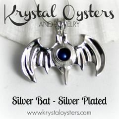 Silver Bat - Silver Plated