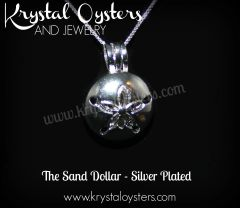 Sand Dollar - Silver Plated