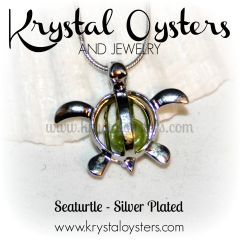 Seaturtle Pendant - Silver Plated