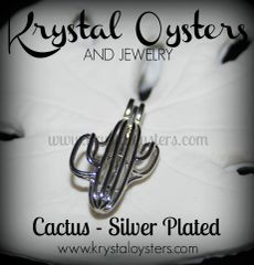 Cactus - Silver Plated
