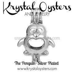Penguin - Silver Plated