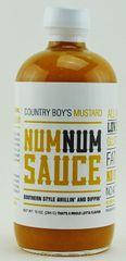 Num Num Sauce-Mustard-10oz