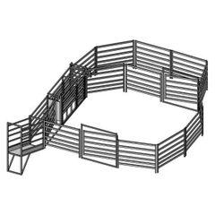 50 Head Cattle Yard (Holding Yard)