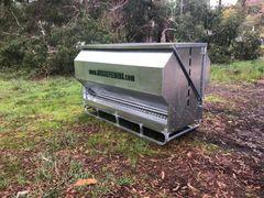 Australian made Grain feeder 2200ltr (1.4ton) x 2.4m long Standard