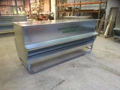 AUSTRALIAN MADE GRAIN FEEDER 1000LTR (800kg) X 2.4M LONG