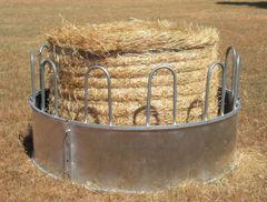 Sheeted Round Bale Feeder