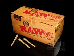 3 pack Pre Rolled RAW King size cones - Hybrid strains
