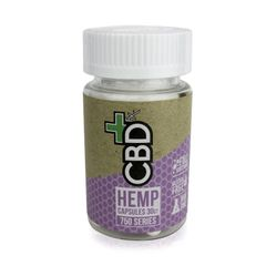CBD FX 25 mg CBD Capsules - 750mg per bottle