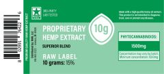 CBD Green Label (raw) Extract - 10 grams