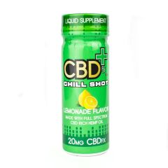 CBD Chill Shot (4 pak) Lemonade Flavor - 80mg CBD total