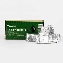 CBD Tasty Cocoas Dark Chocolate Mint - 40mg CBD per pak