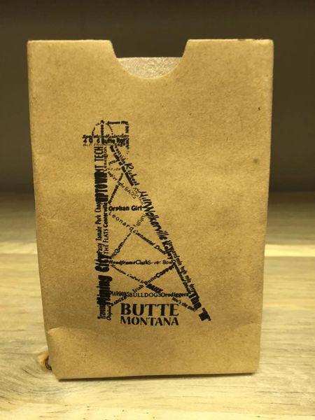 Koozie Paper Bag Butte Stuff