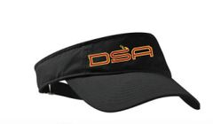 Visor with DSA embroidered logo