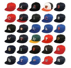 MLB Replica Mesh Caps