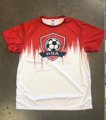 NSA Red Game Jersey - Sublimated