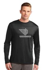 Moisture Management Long Sleeve T-Shirt with Vegas Flyers Logo