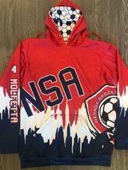 NSA Spirited Hoodie - Sublimated