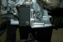 F23 trans mounts right and left for engines with starter on engine