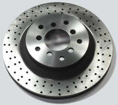 Brake Rotor Cross-Drilling/Dimpling/Slotting