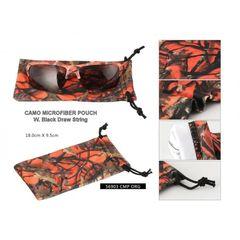 Orange Camouflage Soft Case