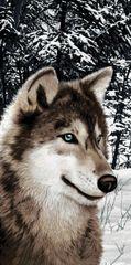 Big Wolf Towel