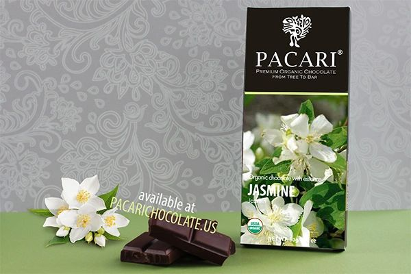Pacari Jasmine Organic Chocolate Bar