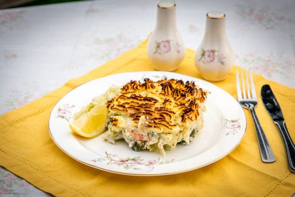 HUNGRY DAYS FISH PIE