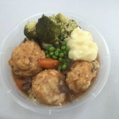 Hungry Days Beef Stew & Dumplings