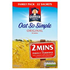 OAT SO SIMPLE ORIGINAL 594G 22 SACHETS
