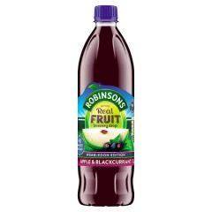 ROBINSONS APPLE & BLACKCURRENT SQUASH 1L