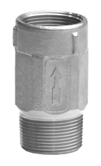 """4242SS2 1-1/4"""" MIP X FIP Stainless Steel Submersible Check Valve"""
