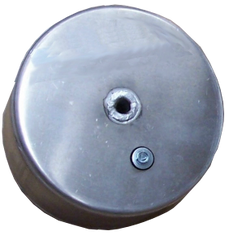"8 ASTF 8"" X 3-1/4"" Welded Aluminum Tank Float"