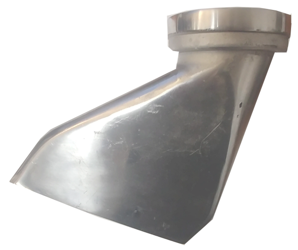 Water Truck Side Fin Spray Head 3 Quot Vic X 5 Quot X 1 4 Quot Slot