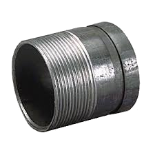 Grooved x Male Iron Pipe Thread Adapter Nipples