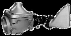 "DWP - 3 3"" THREADED VALVE W / SIDE SPRAY HEAD COMBO"