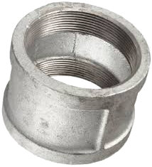 "3/4"" - 2"" NPT Galvanized Threaded Pipe Couplings"