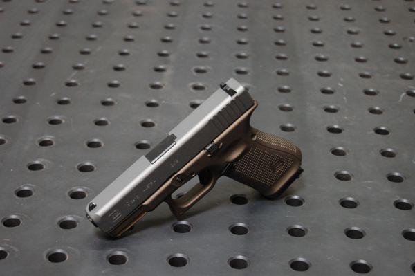 Glock 19 Gen 5 X-Werks Midnight Bronze Frame & Tungsten Slide FS